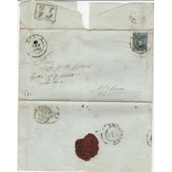 TOSCANA 1860  - 20 cent  GOVERNO PROVV SASS N 20 BUSTA  MF54314