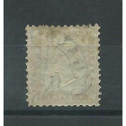 1862 REGNO ITALIA EFFIGIE VITT EMANUELE II 10 CENT 1 VAL USATO FIECCHI  MF18057