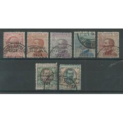 1924 REGNO  CROCIERA ITALIANA  7 VAL USATI ALTI FIRMATI  MF18063