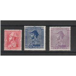 1926 NUOVA ZELANDA  GIORGIO 5 -  3 VALORI MLH MF54377