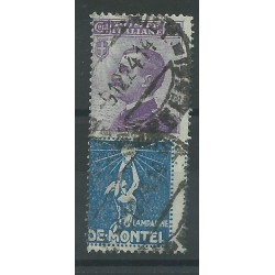1924 -25 REGNO PUBBLICITARI 50c DE MONTEL  1  VAL USATO MF16679