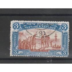 1906 NUOVA ZELANDA  EXPO CHRISTCHURCH  1  VAL USATO MF54374