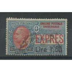 1924 REGNO ITALIA ESPRESSO SOPRASTAMPATO 1,60 L SU 1,20 L USATO CILIO MF27523