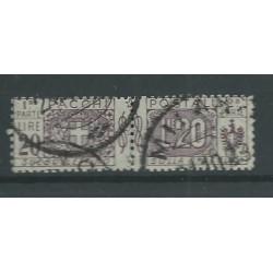 1922 REGNO PACCHI POSTALI 20 LIRE LILLA 1 VAL USATO CERT CILIO MF27536