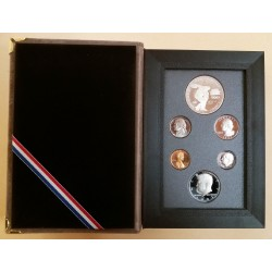 1983 USA UNITED STATES OLYMPIC PRESTIGE SET PROOF - ONE DOLLAR SILVER  MF41616