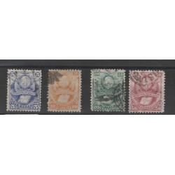 BOLIVIA 1878  STEMMA ELIBRO 4 VAL USATI MF54368