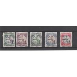 PARAGUAY 1950   75 UPU  5  VAL MNH  MF54350