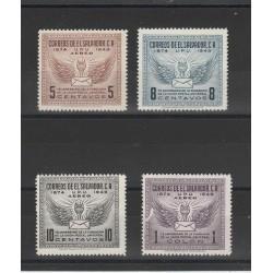 EL SALVADOR 1948  MORTE ROOSEVELT  2 VBF MNH MF53885