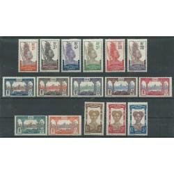 GABON 1910-1810-18 VEDUTE VARIE 17  VAL MLH MF 16263
