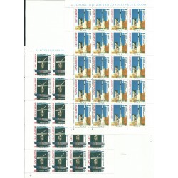1991 SAN MARINO SERIE EUROPA IN  MINIFOGLI NUOVI MNH MF27549