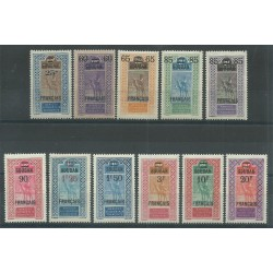 SUDAN SOUDAN 1922 / 1927 MEHARISTA  11 VAL MNH MF27589
