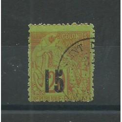 SENEGAL 1887 ALLEGORIA DELLE COLONIE SOPRAST. 5 TIPO USATO YV n. 5d MF27598