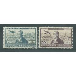 1942 SIRIA SYRIE POSTA AEREA ANNIV INDIPENDENZA 2 V MNH YV. n. A94/95 MF27607