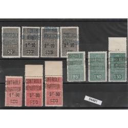 ALGERIE ALGERIA 1927  PACCHI POSTALI 10  VAL  MNH MF54481