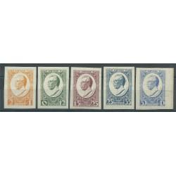 1929 LETTONIA LATVIJA MINISTRO MEIEROVICS 5 VAL ND MNH MF27657