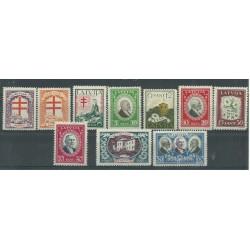 1930 LETTONIA LATVIJA PRO OPERE ANTITUBERCOLARI 10 V MNH MF27659