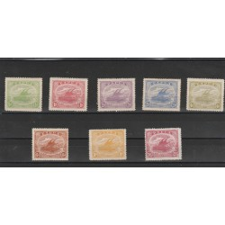PAPUA  NEW GUINEA 1911-12 IMBARCAZIONE 8  VAL MLH MF54504