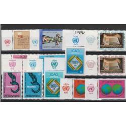 1978  ONU NY ANNATA COMPLETA 13 VAL  CON APPENDICE MF54550