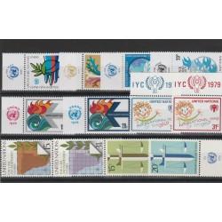 1979  ONU NY ANNATA COMPLETA 12 VAL  CON APPENDICE MF54547