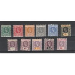 SIERRA LEONE 1912 DEFINITIVA EFFIGIE GIORGIO V  11 V MLH MF54539