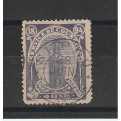 MAROCCO MAROC 1894 POSTE LOCALI  TASSE 1 VAL USATIO  MF54511