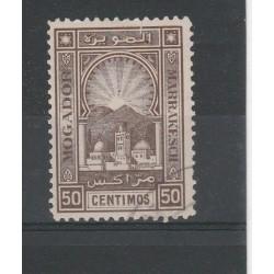 MAROCCO MAROC 1895 POSTE LOCALI  1 VAL USATIO  MF54517