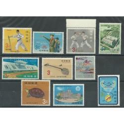1965 RYUKYU ANNATA COMPLETA 10 VALORI MNH MF27765