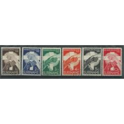 SURINAME 1935 MISSIONE DI FRATEL MORAVES 6 V NUOVI MLH MF27775