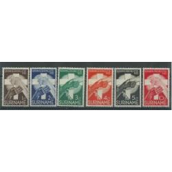 SURINAME 1935 MISSIONE DI FRATEL MORAVES 6 V NUOVI MLH MF27776