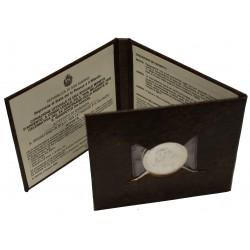 1980 SAN MARINO XV CENTENARIO NASCITA SAN BENEDETTO DA NORCIA LIRE 1000 AG FDC MF23716