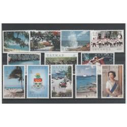 CAYMAN ISLANDS 1991  VEDUTE 12 VAL  MNH MF54609
