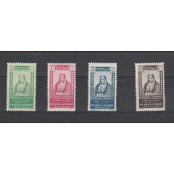 1942  GRAND LIBANO  INDIPENDENZA 4 VAL MNH MF54601