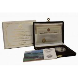 1988 SAN MARINO DITTICO CALGARY XXIV OLIMPIADE SEUL PROOF MF24446