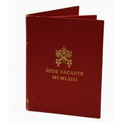 1963 VATICANO VATICAN CITY MCMLXIII SEDE VACANTE LIRE 500 FDC AG  MF23714