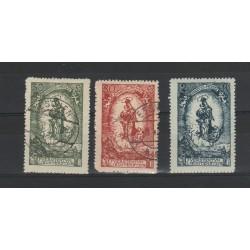 1920  LIECHTENSTEIN PRINCIPE  GIOVANNI II   8 VAL USATI MF54688
