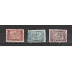 ARABIA SAUDITA 1937-39  SEGNATASSE  3 V USATI  MF54629