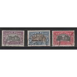 1924-27 ESTONIA EESTI CARTA GEOGRAFICA 3  V USATI MF54680