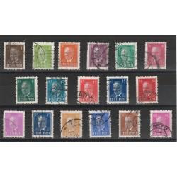 1936 ESTONIA EESTI PRESIDENTE PATS 17 VALORI USATI MF56671