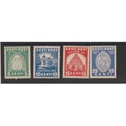 1936 ESTONIA EESTI CHIOSTRO DI S BRIGIDA   4 VALORI NUOVI MNH MF54675