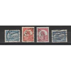 1932  ESTONIA EESTI  UNIVERSITA DI DORPAT  4 VAL USATI MF54669
