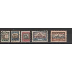 1927 ESTONIA EESTI PRO VITTIME DI GUERRA  5  V  USATI   MF54665