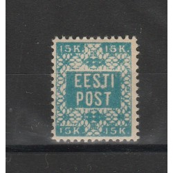 1918 ESTONIA EESTI SCRITTA IN ORNATO  1 V MLH MF54727