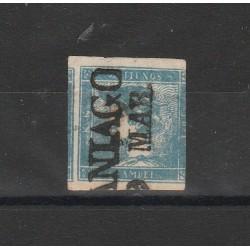 1851 AUSTRIA OSTERREICH GIORNALI MERCURIO N 1 USATO MF54737