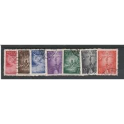 1947 VATICANO VATICAN CITY P A  SOGGETTI VARI 7 USATI  MF54772