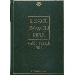 2006 ITALIA REPUBBLICA LIBRO DEI FRANCOBOLLI COMPLETO MF6577