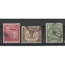 PAKISTAN 1951  SERVICE 3 VAL USATI MF50845