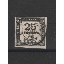 1871 FRANCIA FRANCE  SEGNATASSE CIFRA AL CENTRO  MLH  MF54792
