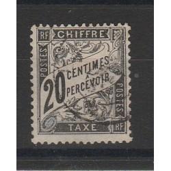 1881 FRANCIA FRANCE  SEGNATASSE CIFRA AL CENTRO 1 VAL USATO MF54788