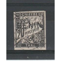 GOLFE DE BENIN 1894 SEGNATASSE  1 VAL USATO YV n.3 MF54766