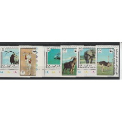 MAURITANIE MAURITANIA 1978  FAUNA ANIMALI IN  PERICOLO 6  VAL  MNH MF54850
